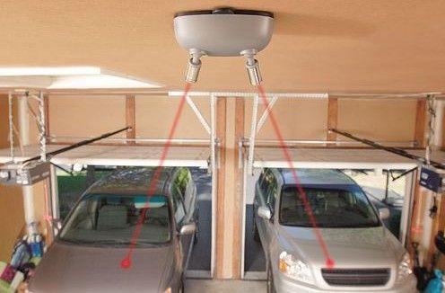 laser parking guide