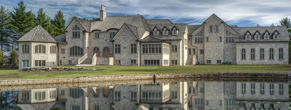 Hobart, WI mansion exterior