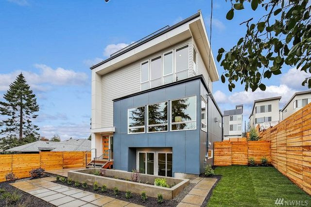 Seattle WA modern exterior