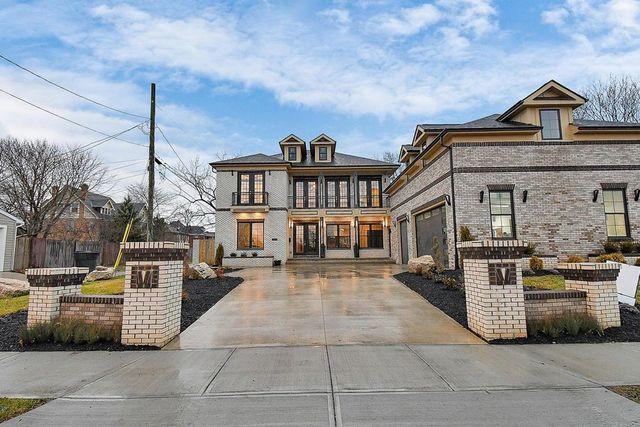 Columbus OH brick house exterior