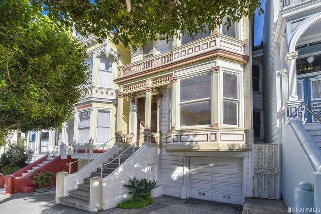 San Francisco CA Painted Lady exterior