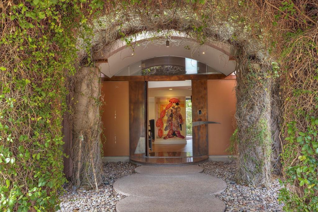 Front door house in Phoenix AZ