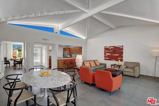 Palm Springs condo umbrella ceilings