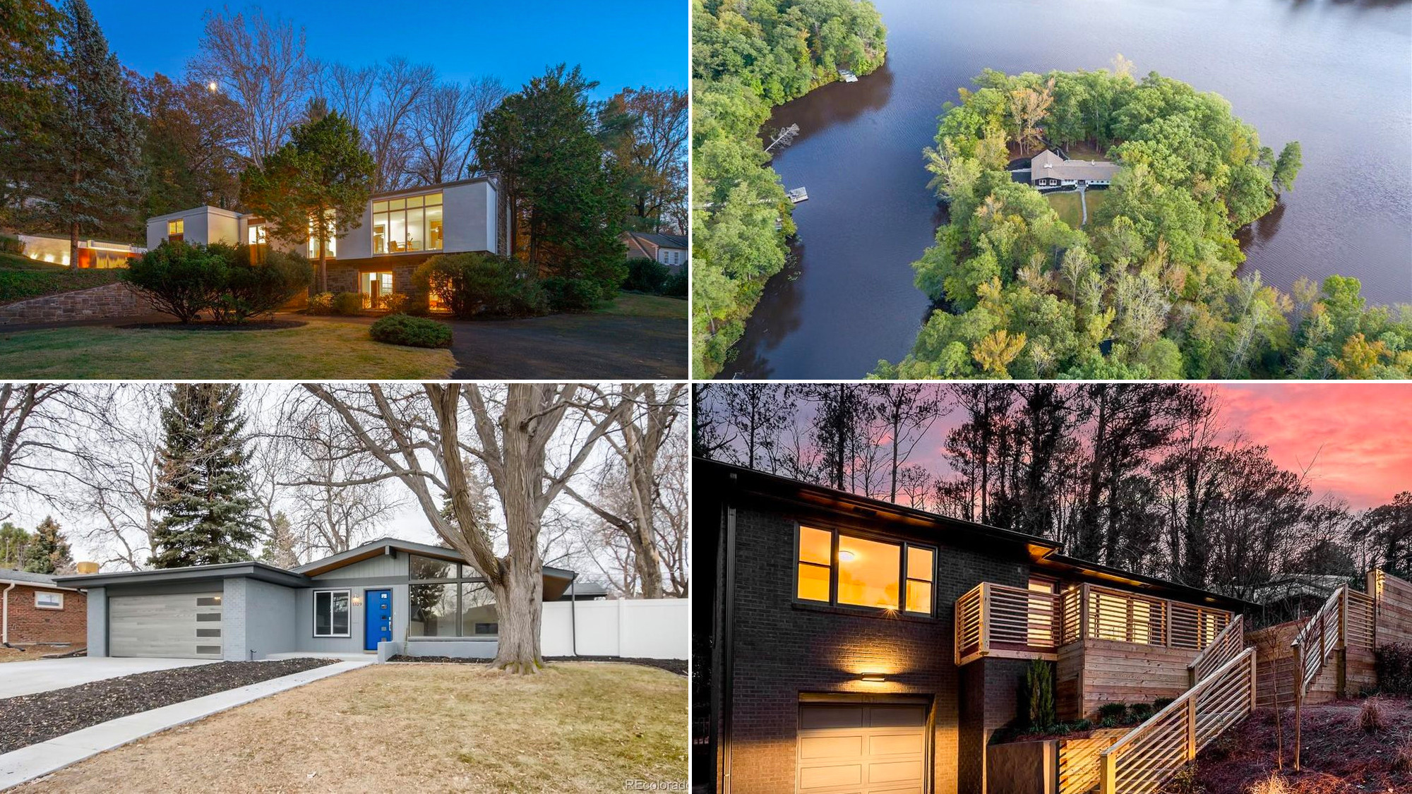 Midcentury Modern homes for sale