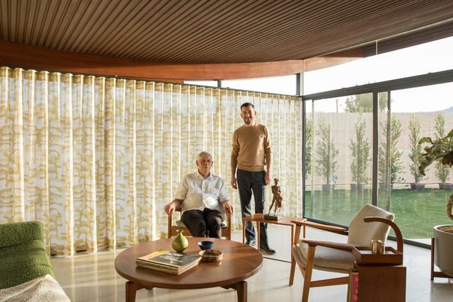 Gil Stayner and his son Christian, of Stayner Architects in Los Angeles