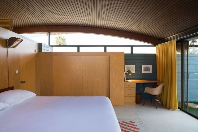 Miles C. Bates bedroom