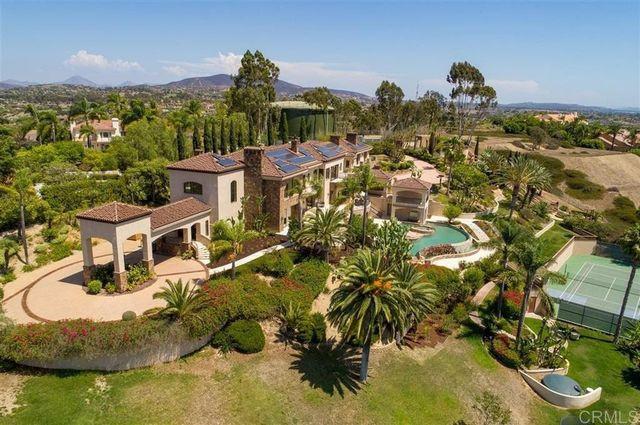 Overhead Mike Love house Rancho Santa Fe