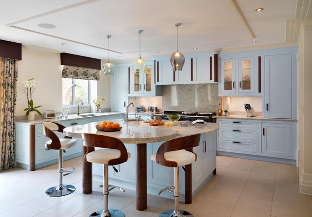 Aston | Art Deco Inspiration. transitional-kitchen