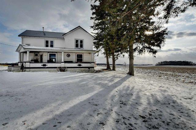 Waterloo, IN farmhouse exterior