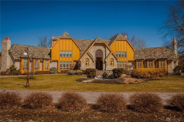 Sterling Township., OH Tudor home exterior