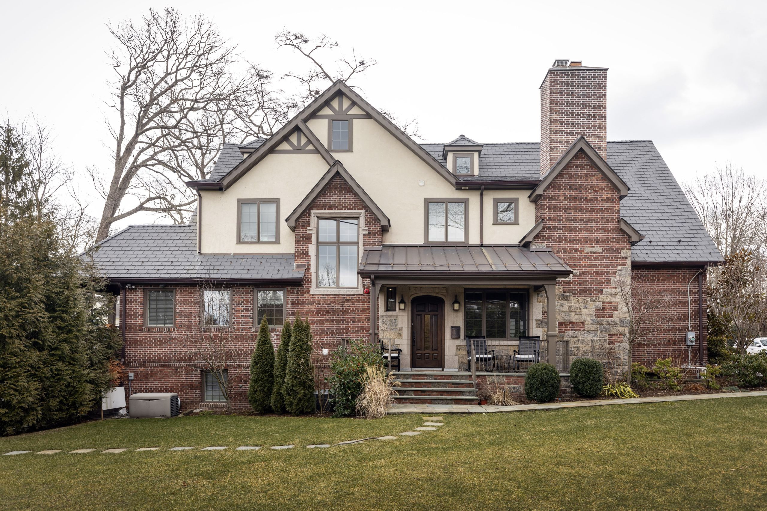 he home of Kimberly FitzSimons, who moved with her family to Pelham, N.Y., primarily because she wanted to be close to New York City where her husband works.