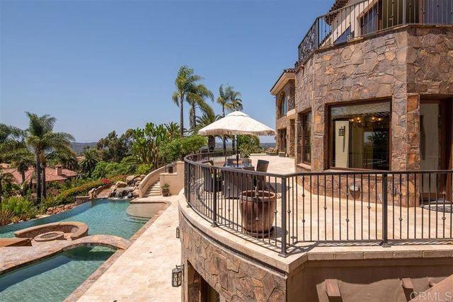 Terrace Mike Love House Rancho Santa Fe
