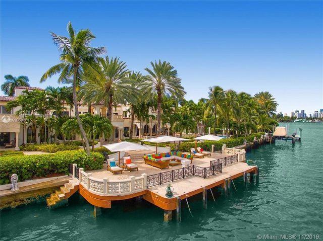 Miami Beach, FL mansion exterior