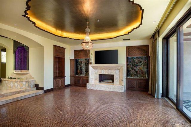 Living room Mike Love house Rancho Santa Fe