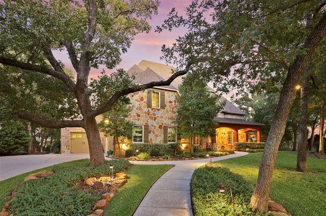 Flower mound TX home exterior