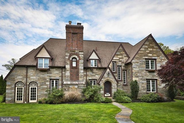 Tudor in Drexel Hill PA exterior