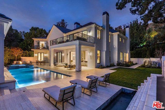 Beverly Hills, CA mansion exterior