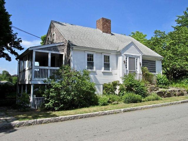 Fairhaven, MA Allen sisters house exterior