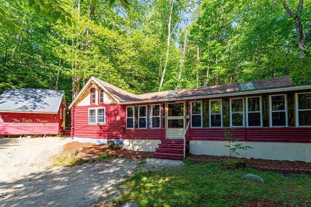 log cabin exterior Fitzwilliam NH