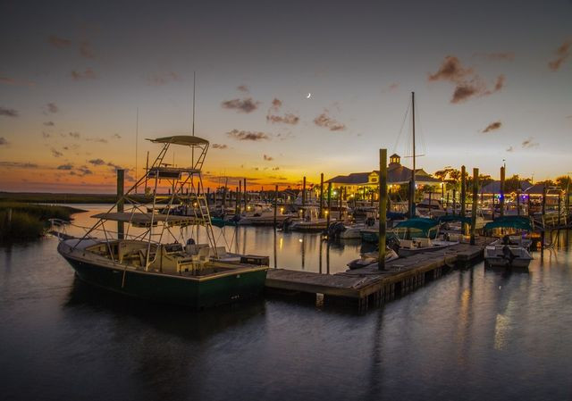 Captain Dicks Marina in Murrells Inlet, South Carolina