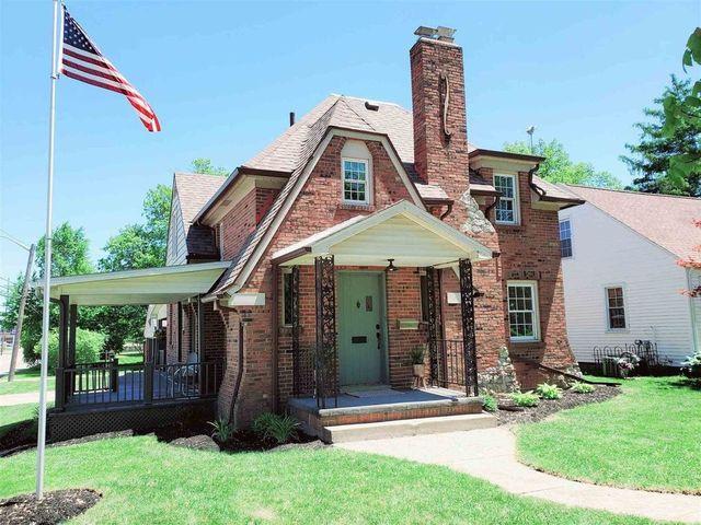 Huntington IN brick cottage exterior