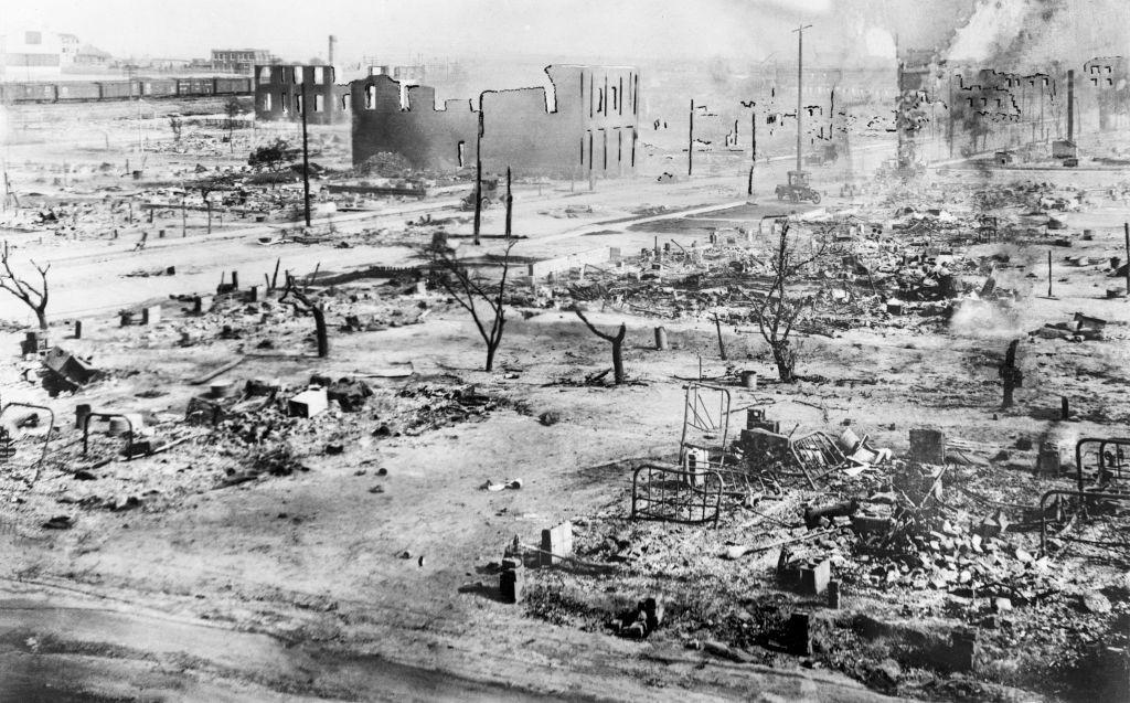 The aftermath of the Tulsa Race Massacre