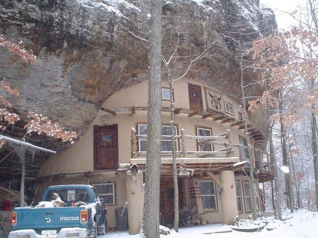 Jasper AR bluff house