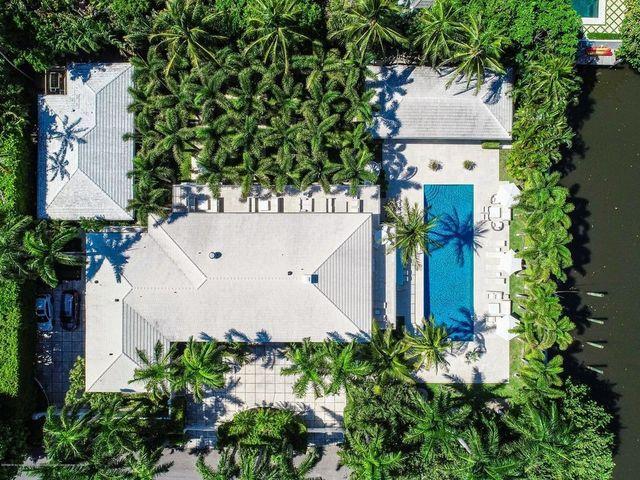 West palm beach fl John Volk house overhead