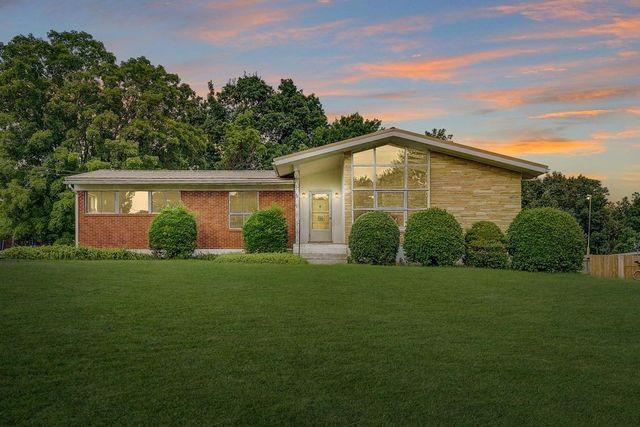 Roanoke VA mid century modern exterior