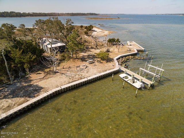 Harkers Island NC overhead
