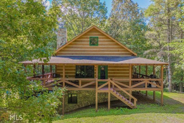 Blue Ridge GA log cabin
