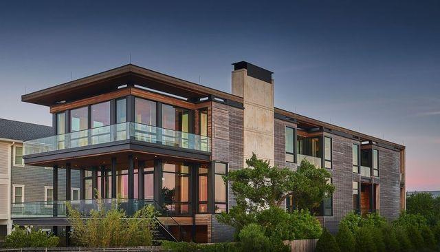 Wrightsville Beach NC modern house exterior