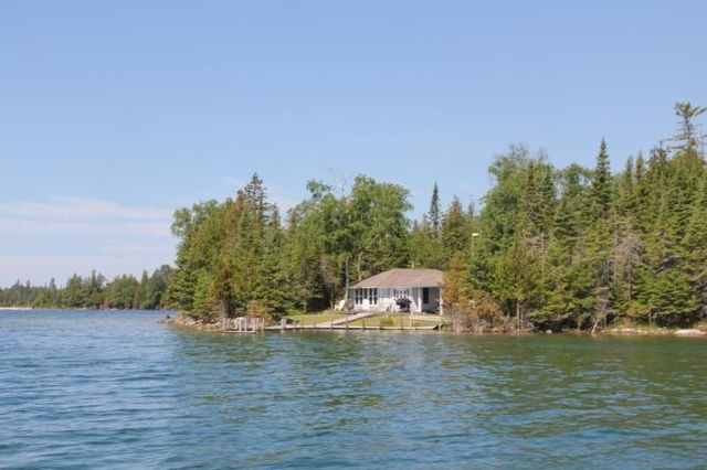 Drummond Island from water