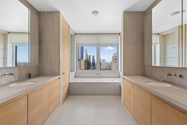Upper East Side luxury condo bathroom