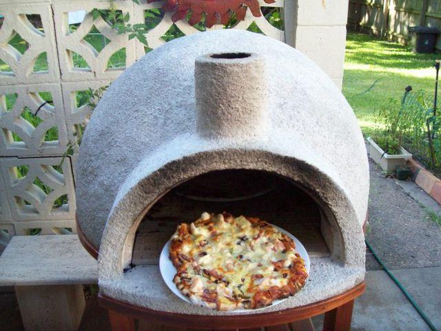 Backyard pizza ovens