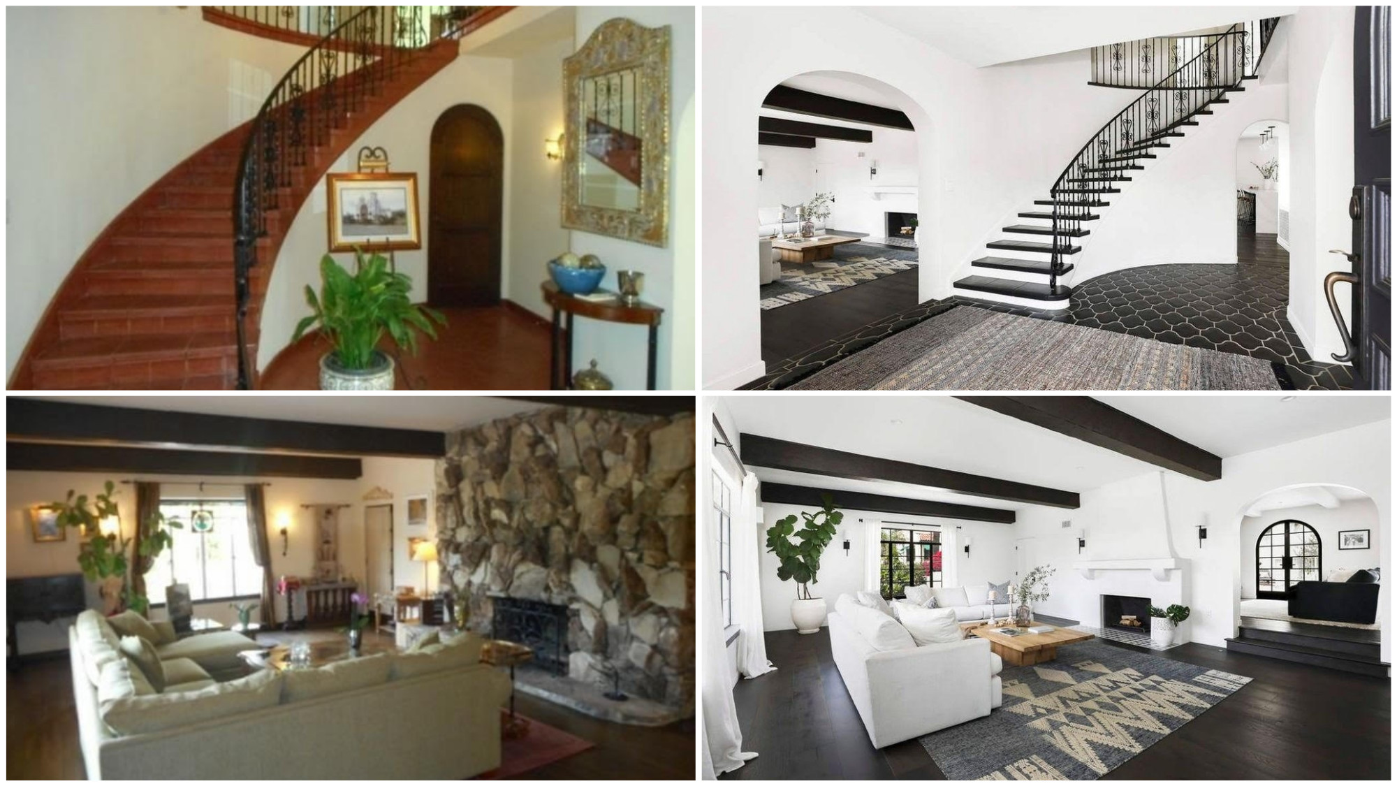 la mansion before and after