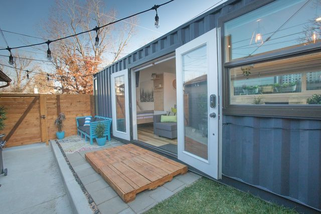 shipping container addition