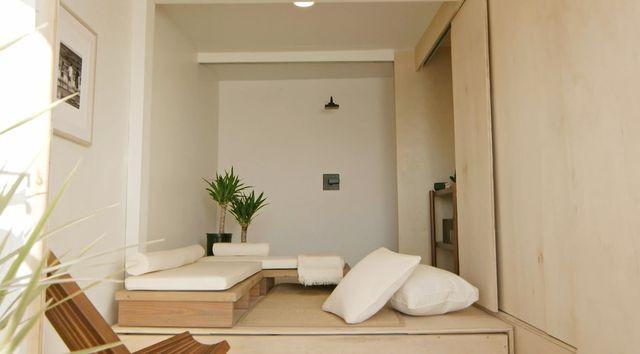 minimalist cabana