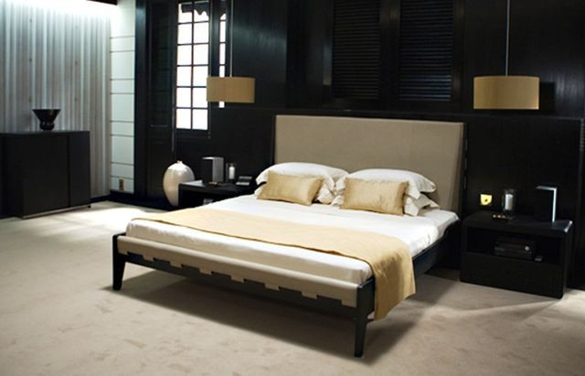 James Bond's bedroom in 'Quantum of Solace'