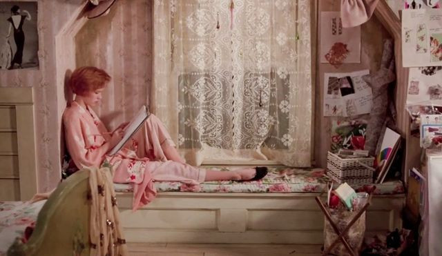 Andy's bedroom in 'Pretty in Pink'