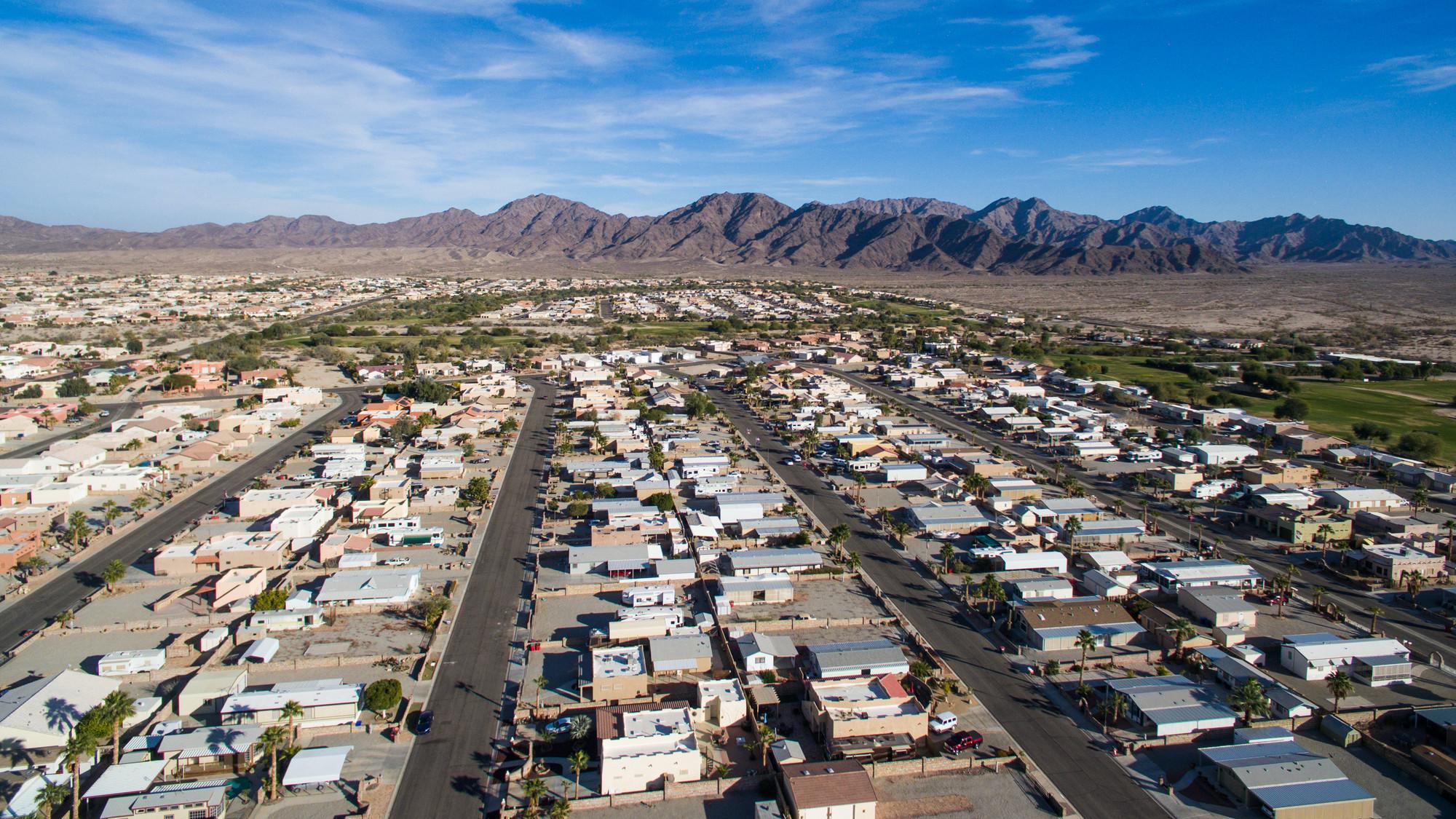 Subdivision in Yuma, AZ