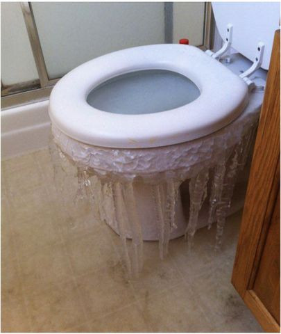 icicles in Texas homes