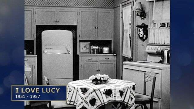I Love Lucy kitchen