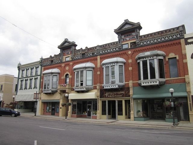 New Ulm, MN, historic downtown
