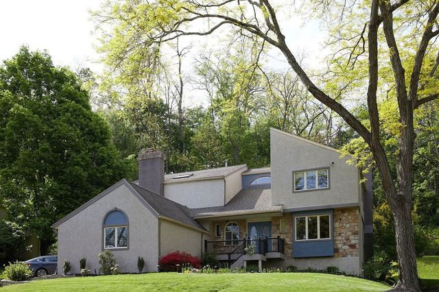 The home of Ashley and Chris Fleming in Bryn Mawr, PA.