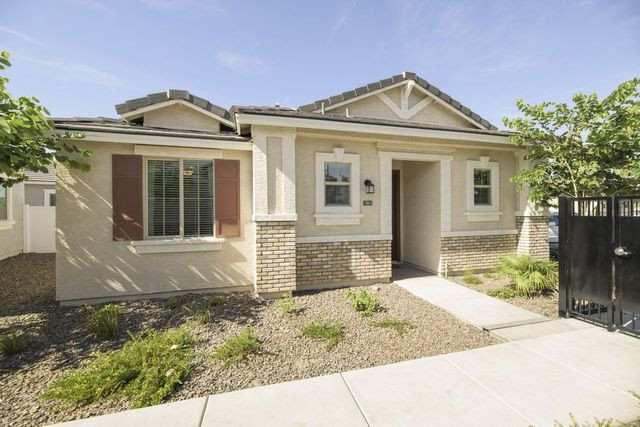 The Phoenix-area subdivision Christopher Todd Communities on Happy Valley spans 222 one- and two-bedroom houses that were built to be rented.