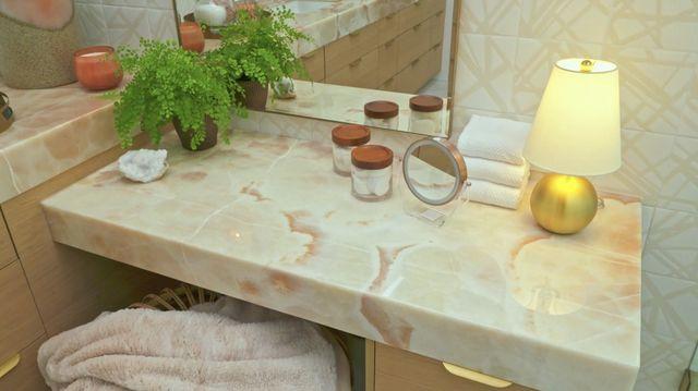 rose countertop