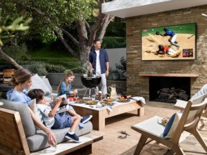 outdoor tv