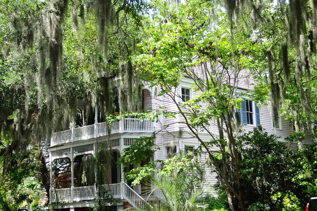One of Beaufort's historic homes.