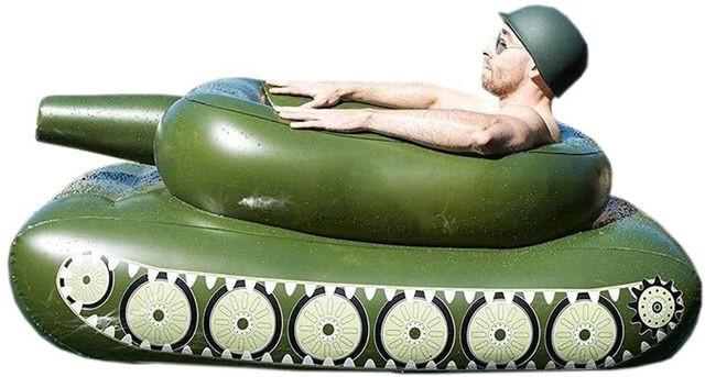 Tank floatie